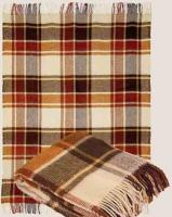 e437b9947859 Плед из 100% новозеландской овечьей шерсти 22-7 170х200 Вальтери - Купить  постельное белье